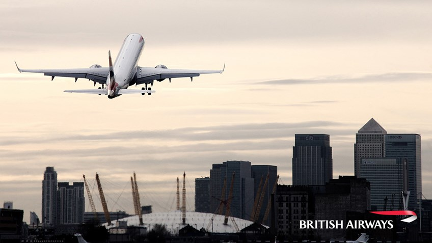 Ungdoms- og studentbilletter hos British Airways med ISIC kortet
